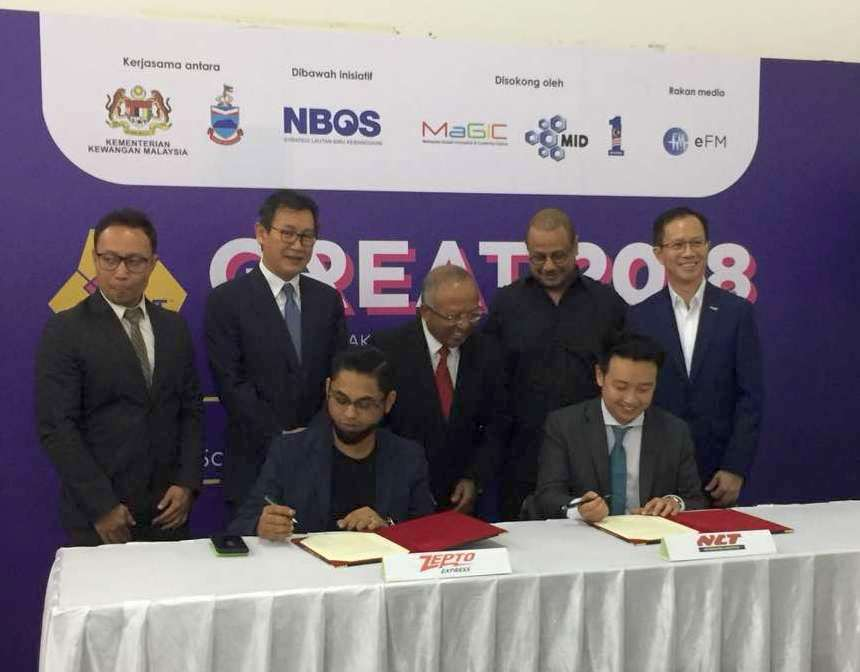 SIGNING MOU CEREMONY EPOST and ZEPTO EXPRESS